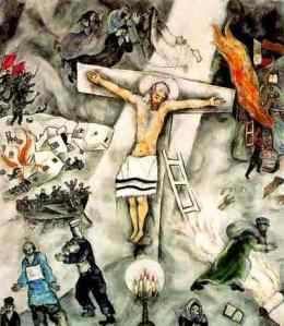 ICCJ: Point 1(Aa) Antisemitism – Jewish suffering – in the ... Marc Chagall White Crucifixion